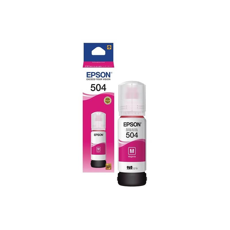 Epson T504320 Magenta - Botella de Tinta