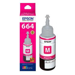 Epson T664320 Magenta - Botella de Tinta
