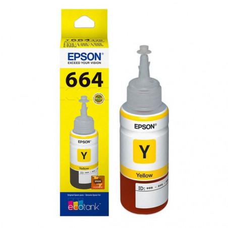 Epson T664420 Amarillo - Botella de Tinta