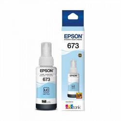 Epson T673520 Cian Claro - Botella de Tinta