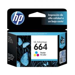 HP 664 (CF6V28AL) Color - Cartucho de Tinta