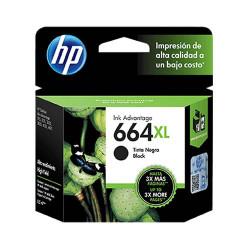 HP 664XL (CF6V31AL) Negro - Cartucho de Tinta