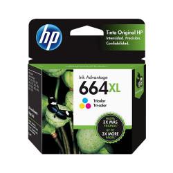 HP 664XL (CF6V30AL) Color - Cartucho de Tinta